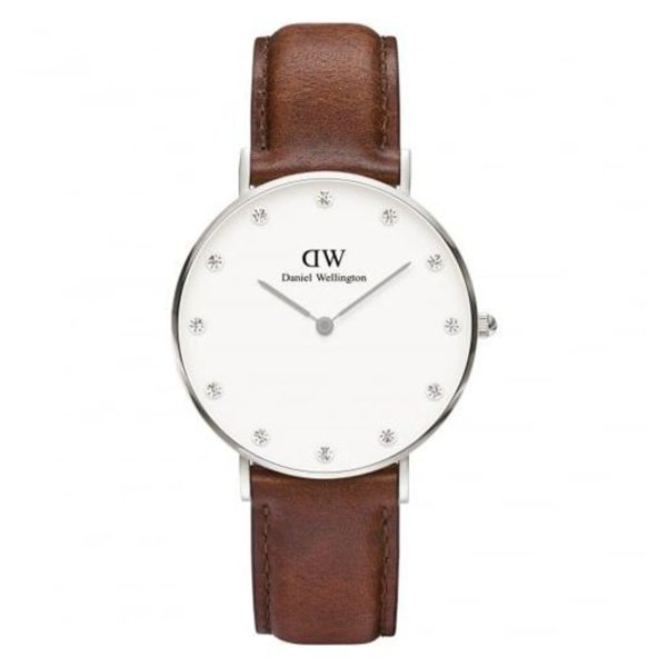 DW00100079  Classy St. Mawes Zilver 34mm