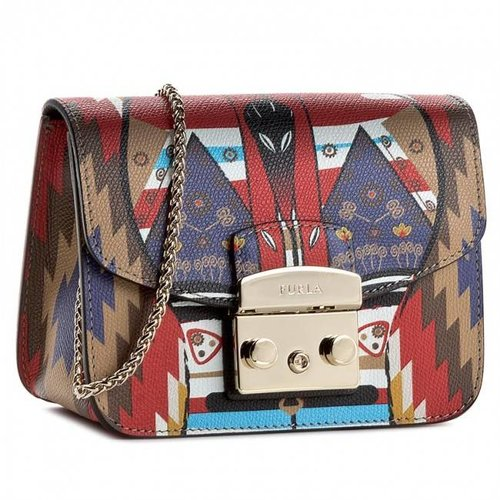 Furla Metropolis Mini Crossbody  Multicolor 2