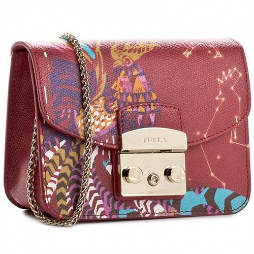 Furla Metropolis Mini Crossbody  Multicolor 3