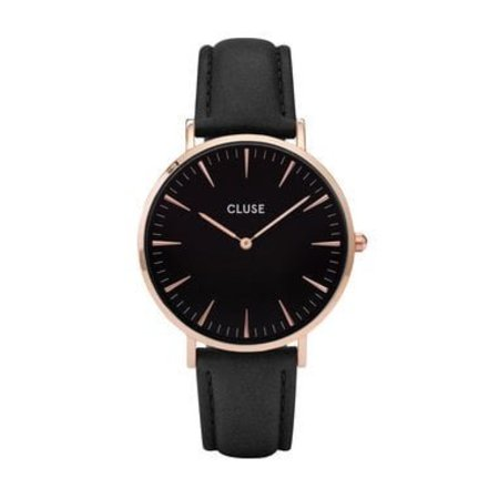 CLUSE  La Bohème Rosé Gold Black/Black CL18001 38mm