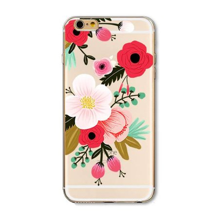 Styledeals Flowers iPhone hoesje