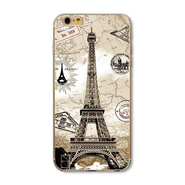 Paris iPhone hoesje iPhone 6Plus