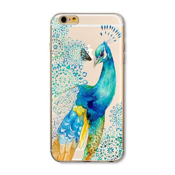 Peacock iPhone hoesje iPhone 6Plus