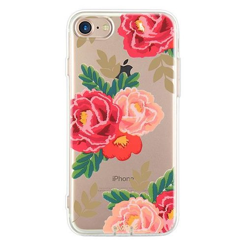 Flower print iPhone hoesje