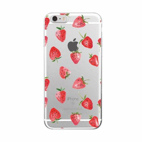 Styledeals Strawberry iPhone hoesje