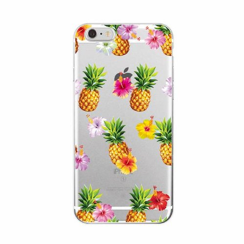 Styledeals Pineapples & flowers iPhone hoesje
