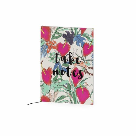 Studio Sweet & Sour  Notebook medium softcover / floral + quote / take notes