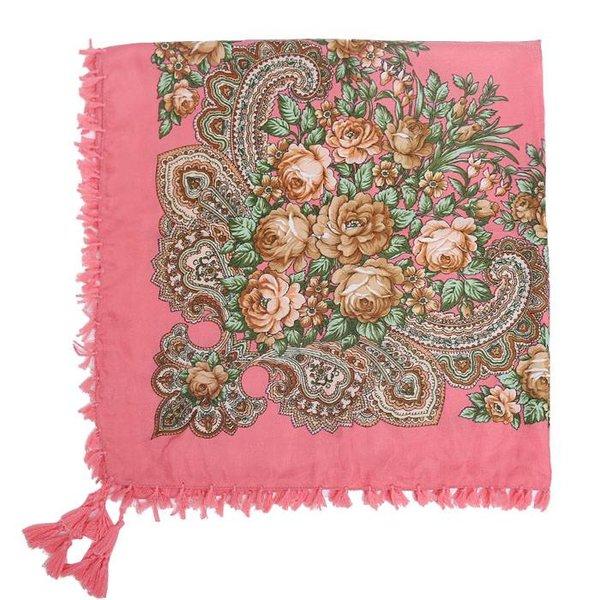 Bohemian sjaal peach