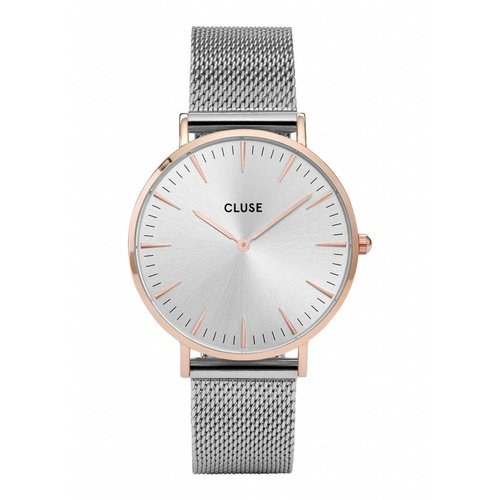 CLUSE  La Bohème Mesh Rose Gold/Silver CL18116 38mm