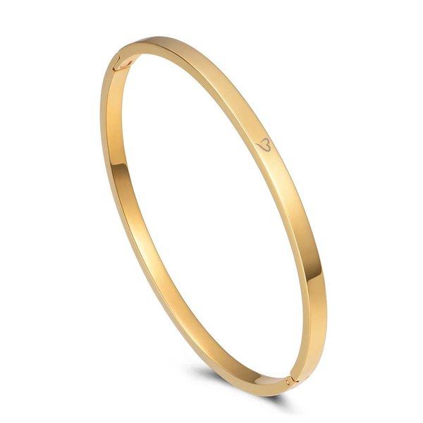 Bangle basic goud 4mm