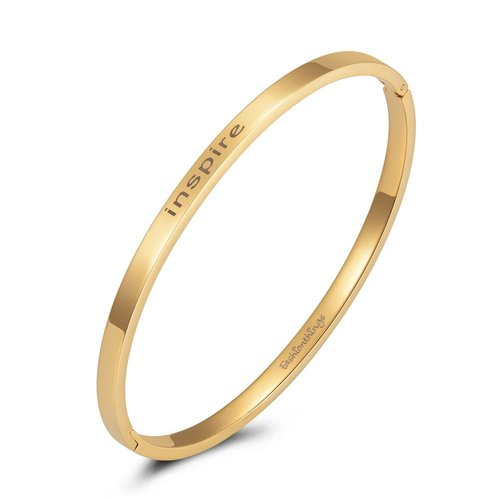 Fashionthings Bangle inspire goud 4mm