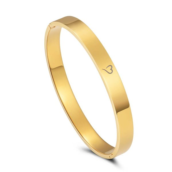 Bangle basic goud 8mm