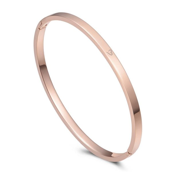 Bangle inspire roségoud 4mm