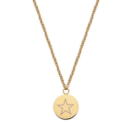 Fashionthings Shining Star Ketting Goud