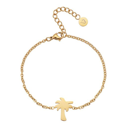 Fashionthings Find Me Under The Palms Armbandje Goud