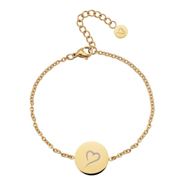 Follow Your Heart Armbandje Goud