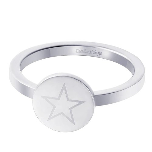 Fashionthings Shining Star Ring Zilver
