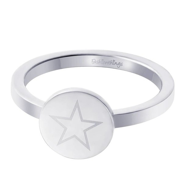 Shining Star Ring Zilver