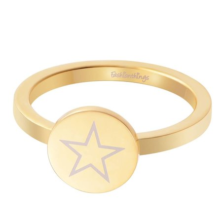 Fashionthings Shining Star Ring Goud