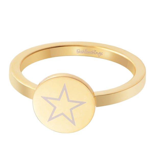Shining Star Ring Goud