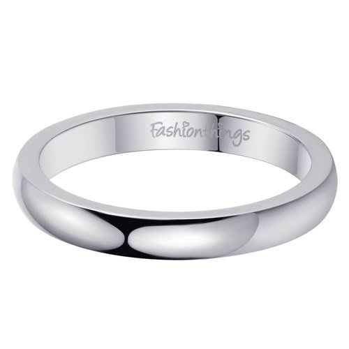 Fashionthings Keep It Simple Ring Zilver