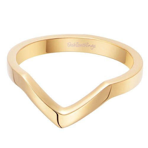 Fashionthings You Go Girl Ring Goud