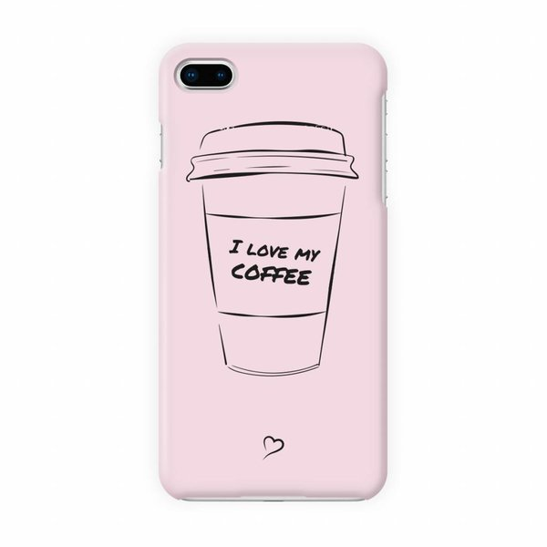 I love my coffee Eco-friendly iPhone hoesje