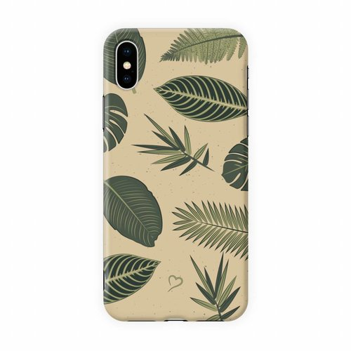 Fashionthings Be-leaf in yourself Eco-friendly iPhone hoesje