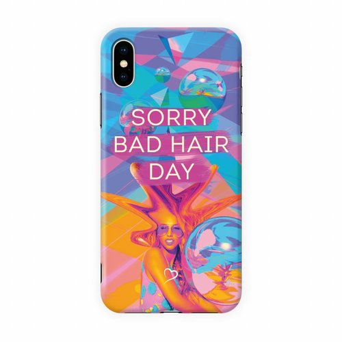 Fashionthings Sorry bad hair day Eco-friendly iPhone hoesje