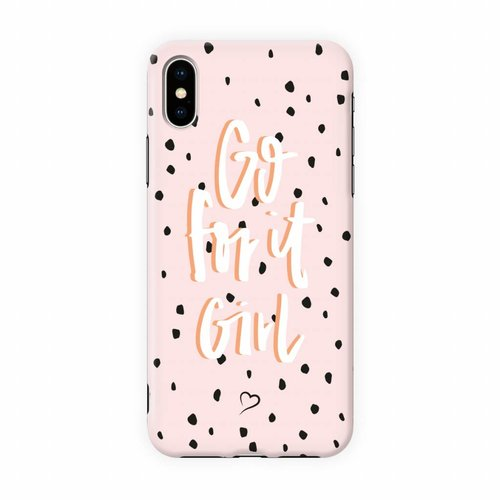 Fashionthings Go for it girl Eco-friendly iPhone hoesje