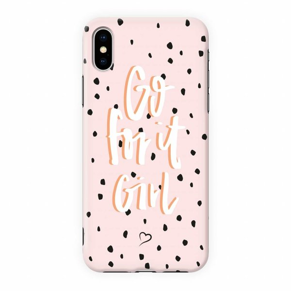 Go for it girl Eco-friendly iPhone cover