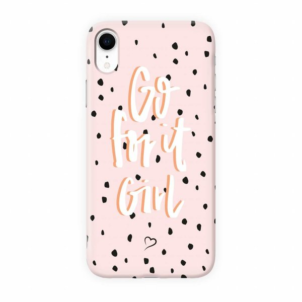 Go for it girl Eco-friendly iPhone hoesje