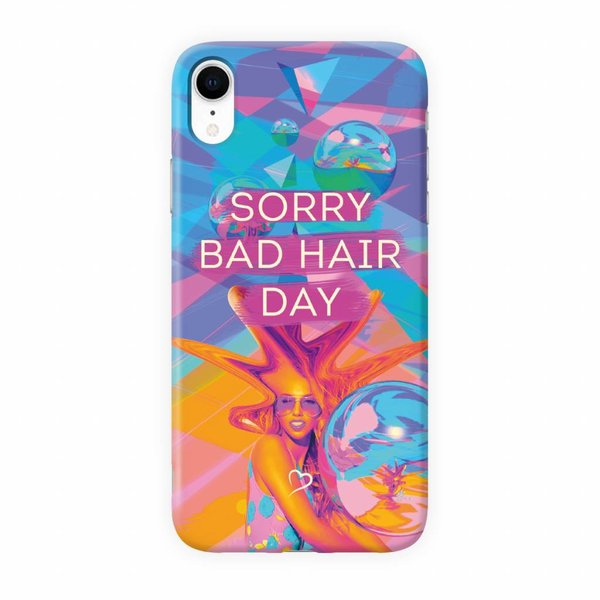 Sorry bad hair day Eco-friendly iPhone hoesje