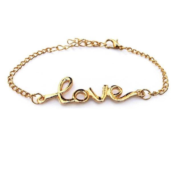 It's all about love armbandje