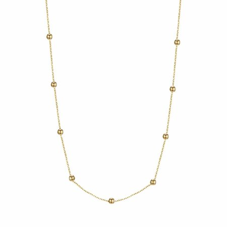 Fashionthings Love the dots ketting goud