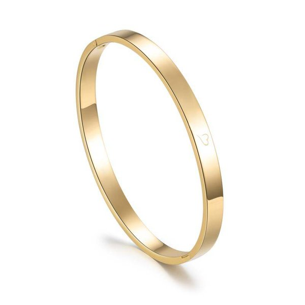 Bangle wanderlust goud 6 mm