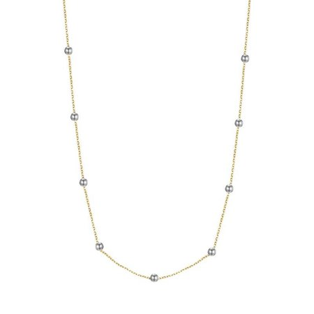 Fashionthings Love the Dots Ketting goud/zilver