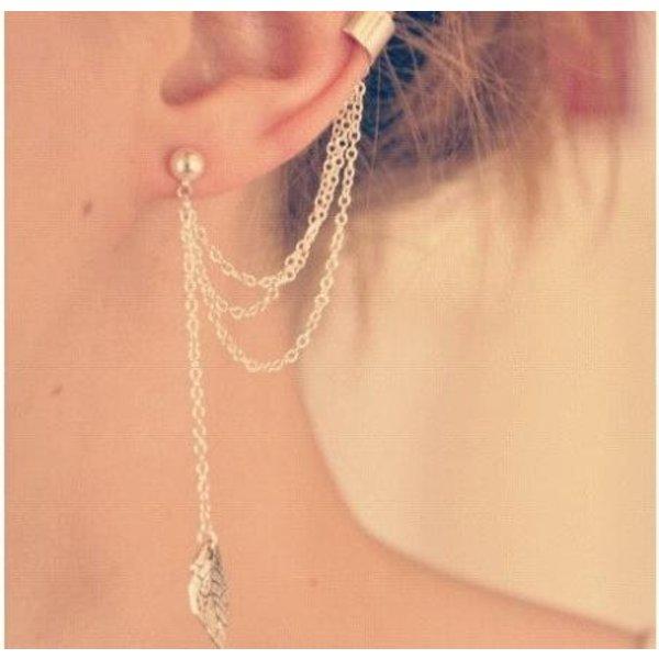 Ear cuff goud