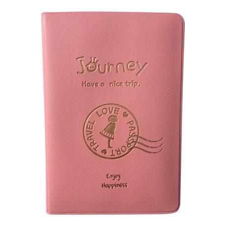 Roze paspoorthoesje