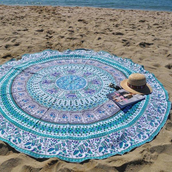 Aloha Summer Beach Roundie