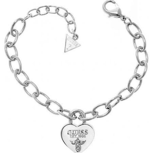 GUESS True love armband zilver UBB21567
