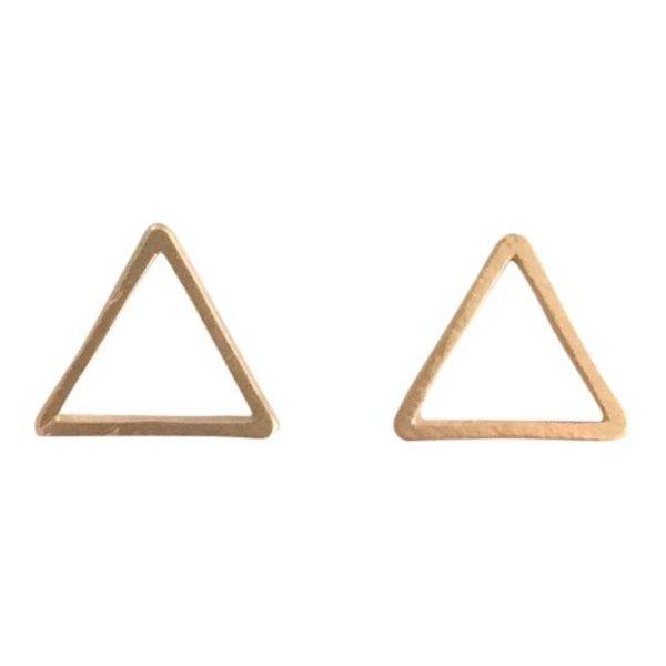 Driehoek stud goud