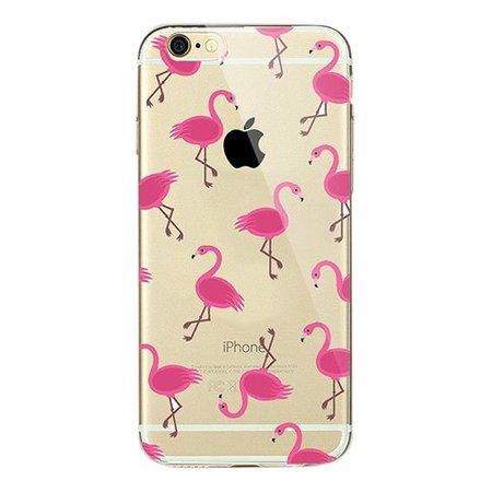 Styledeals Flamingo's iPhone hoesje