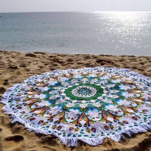 Lola Nomada Dune Fringe Summer Beach Roundie