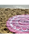 Rosé Summer Beach Roundie