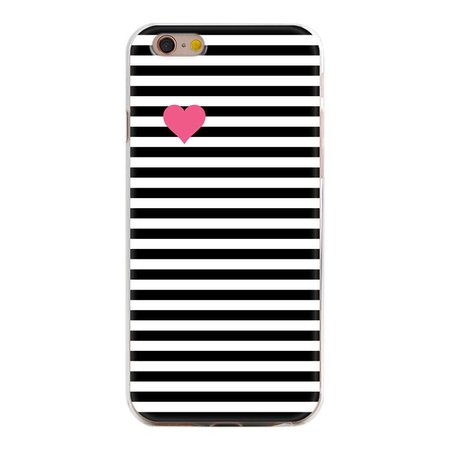 Pink heart iPhone hoesje