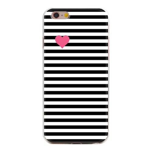 Styledeals Pink heart iPhone hoesje iPhone 7