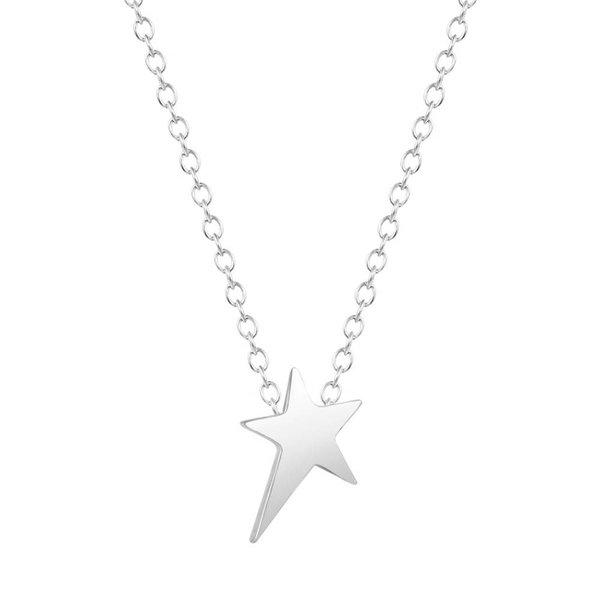 Little star ketting zilver