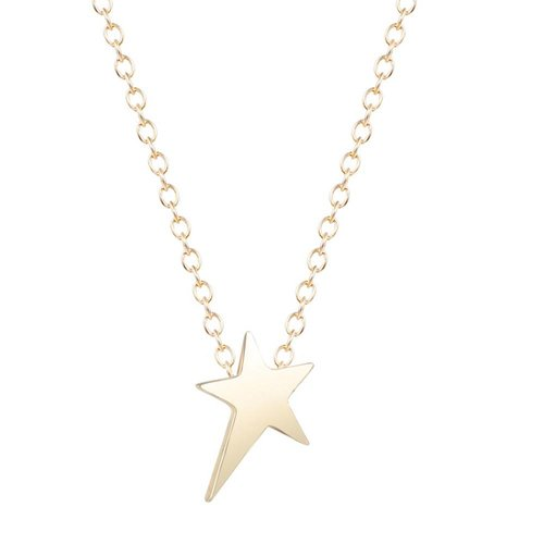 Little star ketting goud