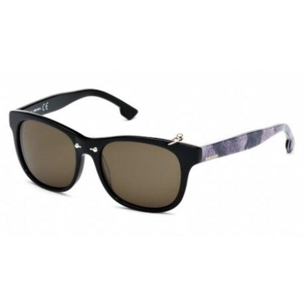DL0048 01A Zwart Zonnebril